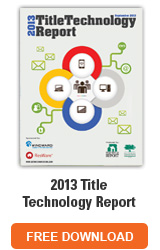 2013 Title Technology Report