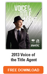 2013 Voice of the Title Agent