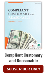 Compliant Customary and Reasonable Special Report
