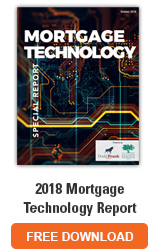 2018 Mortgage Technology