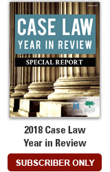 2018 Case Law Year in Review