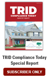 2018 TRID Compliance Today Special Report