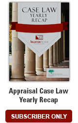 Appraisal Case Law Yearly Recap