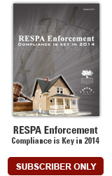 RESPA Enforcement 2014