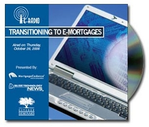 Transitioning to e-mortgages CD