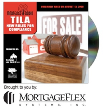 Mortgage Radio: TILA – New Rules for Compliance CD