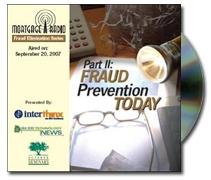 Mortgage Fraud Prevention Today CD