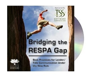 Bridging the RESPA Gap Webinar Recording