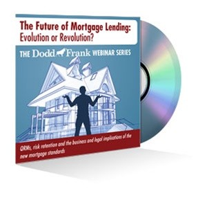 The Future of Mortgage Lending: Evolution or Revolution? Webinar Recording