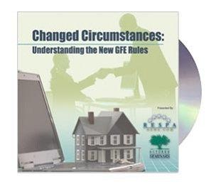 Changed Circumstances: Understanding the New GFE Rules Webinar Recording