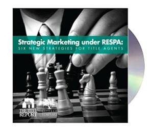 Strategic Marketing under RESPA Webinar Recording