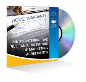 HUD's Interpretive Rule and the Future of Marketing Agreements Webinar Recording
