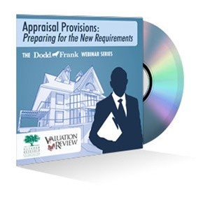 Appraisal Provisions: Preparing for the New Requirements Webinar Recording