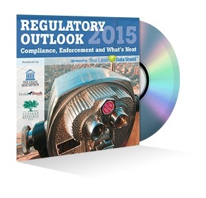 Regulatory Outlook 2015: Compliance, Enforcement and What's Next Webinar Recording