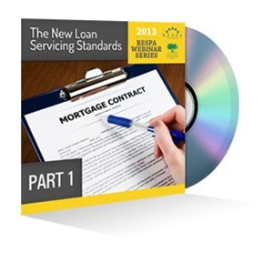 Part 1: The New Loan Servicing Standards Webinar Recording