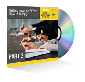 Part 2: Drilling Down on RESPA: How to Comply Webinar Recording