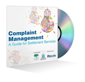 Complaint Management: A Guide for Settlement Services Webinar Recording