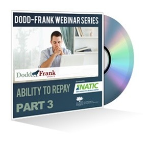 Part 3: Ability To Repay Webinar Recording