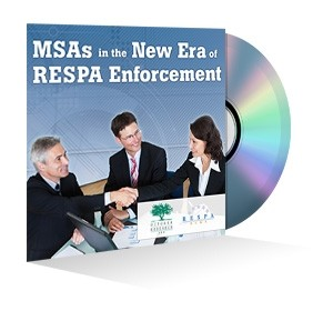 Marketing Services Agreements in the New Era of RESPA Enforcement Webinar Recording