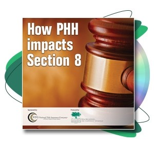 How PHH Impacts Section 8 Webinar Recording