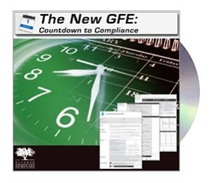The New GFE: Countdown to Compliance CD