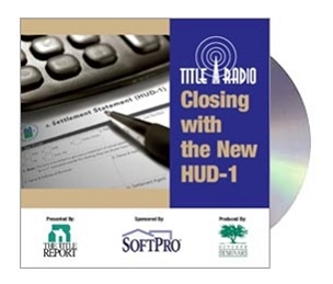 Closing with the New HUD-1 CD