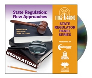 Title Radio State Regulator Panel Series - State Regulation: New Approaches CD