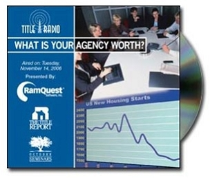 What is Your Agency Worth? webinar recording