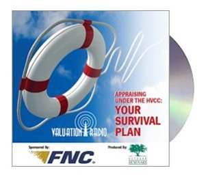 Appraising Under the HVCC - Your Survival Plan CD