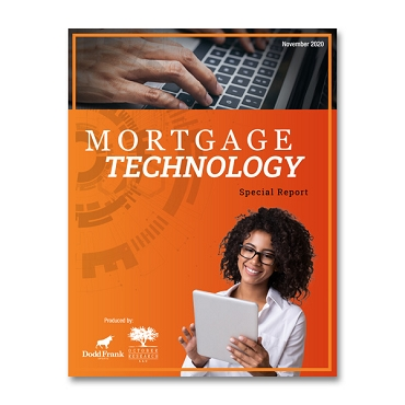 2020 Mortgage Technology Special Report