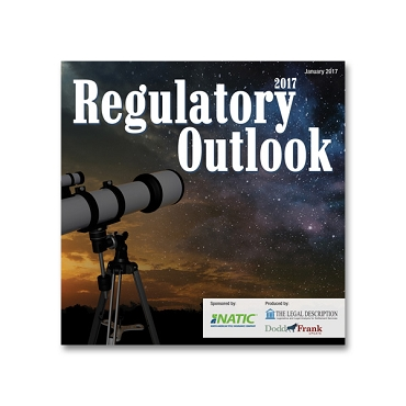Regulatory Outlook 2017 Webinar Recording