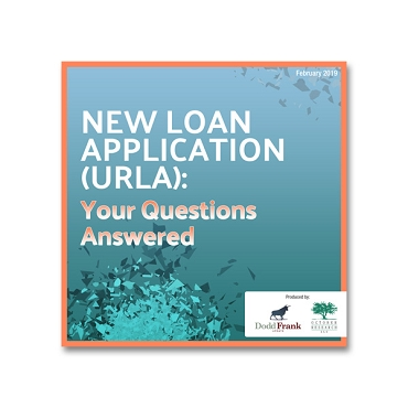 New Loan Application (URLA): Your Questions Answered Webinar Recording