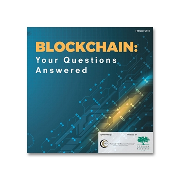 Blockchain: Your Questions Answered Webinar Recording
