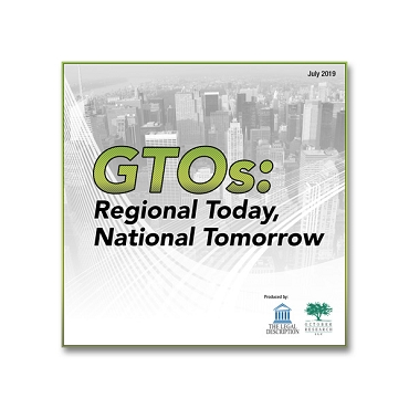 GTOs: Regional Today, National Tomorrow Webinar Recording