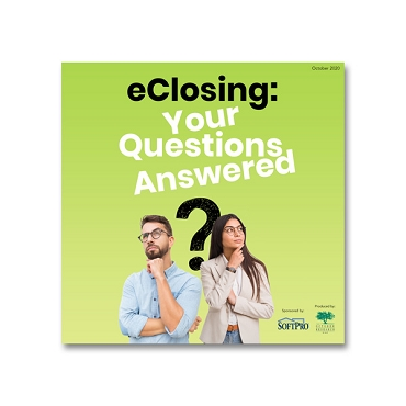 eClosing: Your Questions Answered webinar recording