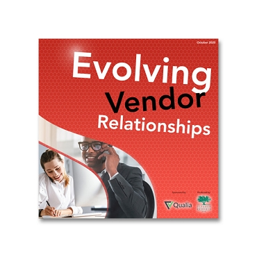 Evolving Vendor Relationships webinar recording
