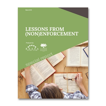 Lessons from (non)Enforcement Special Report