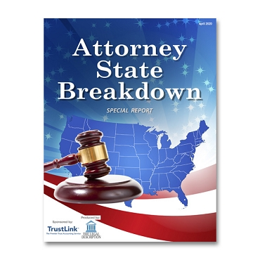 Attorney State Breakdown Special Report