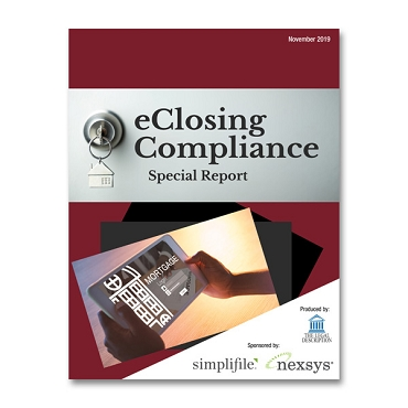 2019 eClosing Compliance Special Report