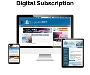 The Legal Description Digital Subscription
