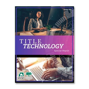 2020 Title Technology Special Report
