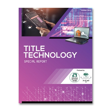 2019 Title Technology Special Report