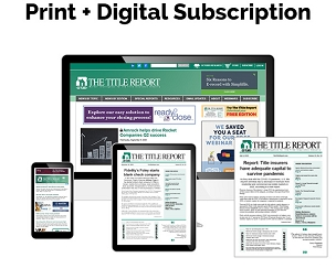 The Title Report Print + Digital Subscription