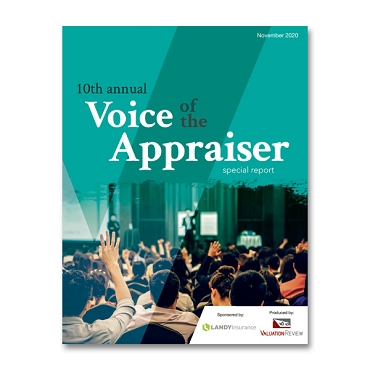 2020 Voice of the Appraiser Special Report