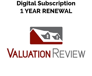 Valuation Review Digital Subscription 1 Year Renewal
