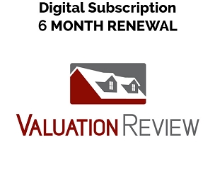 Valuation Review Digital Subscription 6 Month Renewal