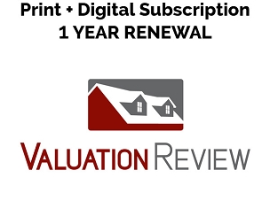 Valuation Review Print + Digital Subscription 1 Year Renewal