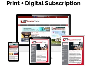 Valuation Review Print + Digital Subscription